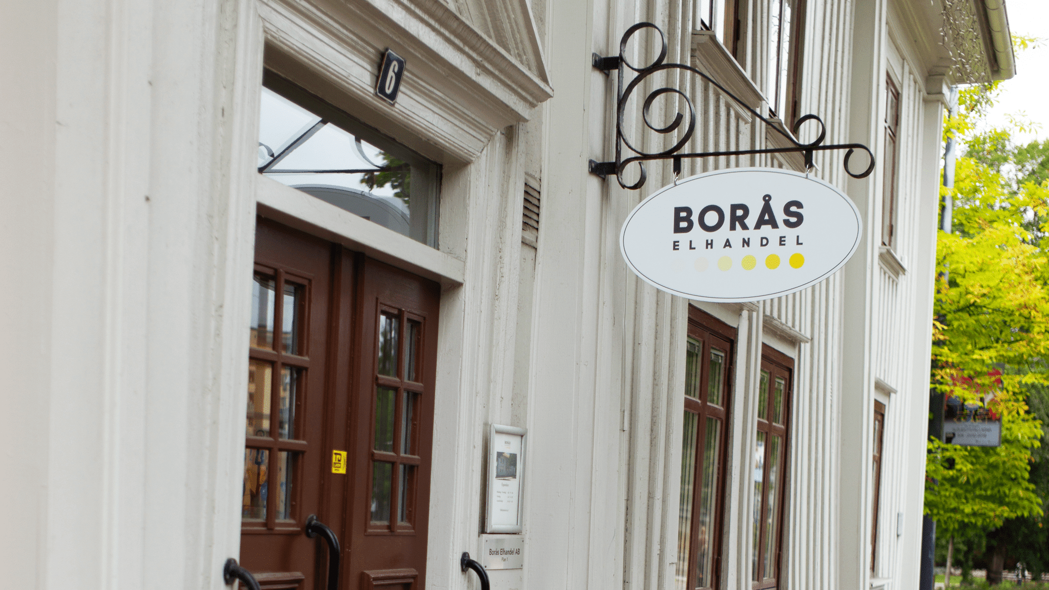 Photo of Borås Elhandel building front